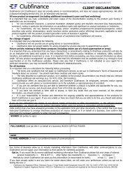 client declaration22 - Clubfinance
