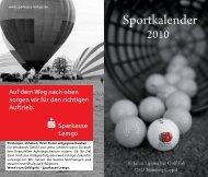 Sparkasse Lemgo - Lippischer Golfclub eV