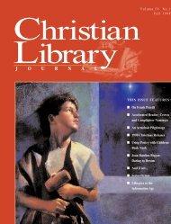 1998 - Christian Library Journal