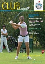 Sommer 2011 - Golfclub Lippstadt