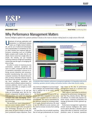 Why Performance Management Matters