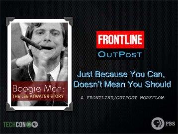 Boogieman Presentation - PBS