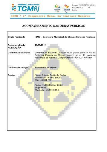 SGCE / 2ª Inspetoria Geral de Controle Externo