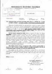 Posuzování vlivů na životní prostředí podle zákona č. 100 ... - Klecany