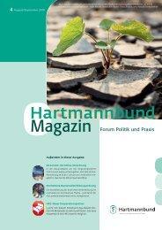 4 August/September 2010 - Hartmannbund