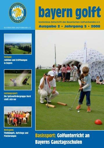 Bayern Golft - Bayerischer Golfverband