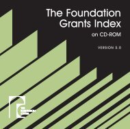 View the User Guide (.pdf) - Foundation Center
