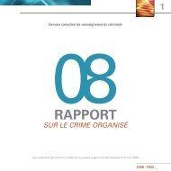 08RAPPORT - Service canadien de renseignements criminels