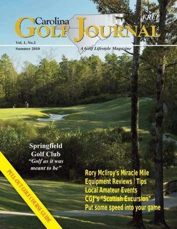 Rory McIlroy's Miracle Mile - Play Best Golf Courses in Charlotte, NC