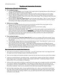 APUSH - Annotations Tips