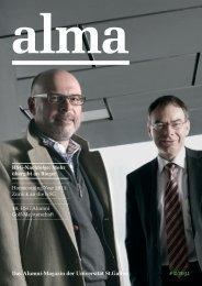 Das Alumni-Magazin der Universität St.Gallen # 2/2011