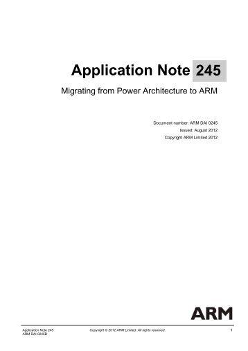 PDF version - ARM Information Center