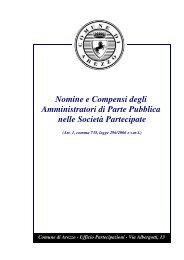 Nomine e Compensi degli Amministratori di Parte Pubblica nelle ...