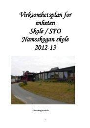 Namsskogan skole - Namsskogan kommune