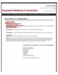 Leica Cyclone 7.1.1 - Geospatial Modeling & Visualization
