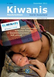 Charity - Kiwanis Deutschland