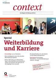 Weiterbildung und Karriere zum Downloaden (PDF ... - KV Schweiz
