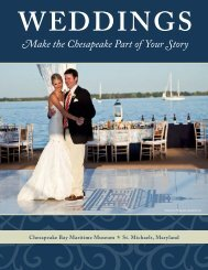 Download our Weddings Brochure with pricing - Chesapeake Bay ...