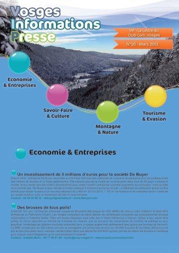 Mars 2013 - CCI des Vosges