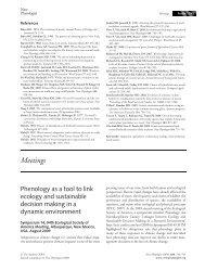Meetings - USA National Phenology Network