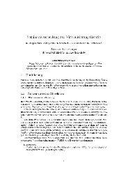 Seminarausarbeitung zur Virtualisierungstheorie 1 Einführung