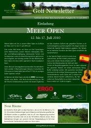 Meer Open - Golfclub am Meer - Bad Zwischenahn