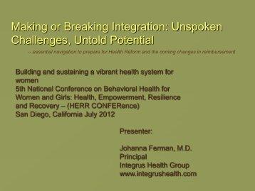 Unspoken Challenges, Untold Potential - Women, Children and ...