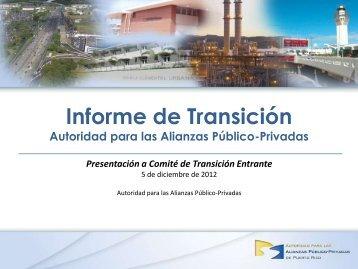 APP – Presentacion de Transicion Dic-05-2012-WEBSITE