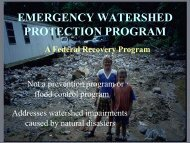 emergency watershed protection program - Virginia Department of ...