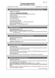 Sicherheitsdatenblatt [PDF - 34 KB]