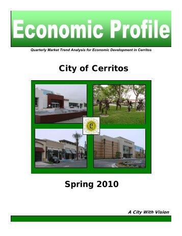 Economic Profile - City of Cerritos