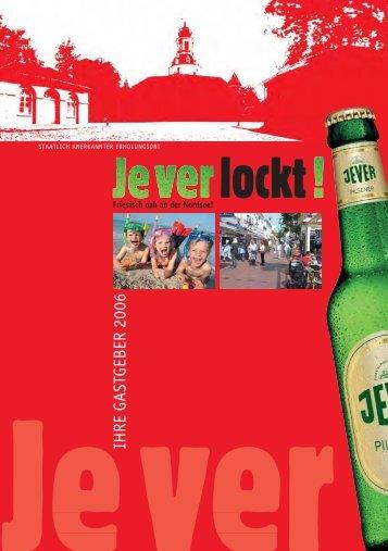 JEVER - Urlaub an der Nordsee - Startseite