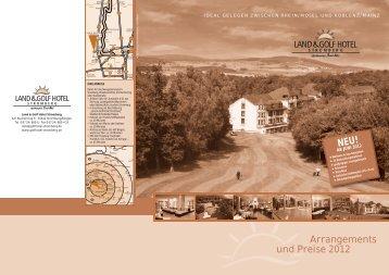 Arrangements und Preise 2012 NEU! - Land&Golf Hotel Stromberg