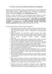 Kongre Sonuç Bildirgesi - Sağlık İdaresi Bölümü - Hacettepe ...