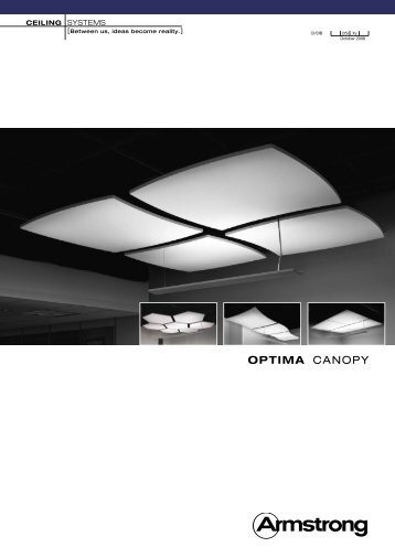 Optima Canopy leaflet - Armstrong
