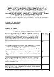 Allegato 2 al Verbale n. 3 - Istituto Universitario Suor Orsola Benincasa