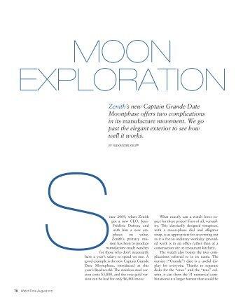 zenith captain grande date moonphase