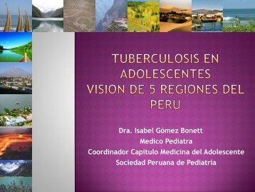 TUBERCULOSIS EN ADOLESCENTES - Comité Adolescencia ALAPE