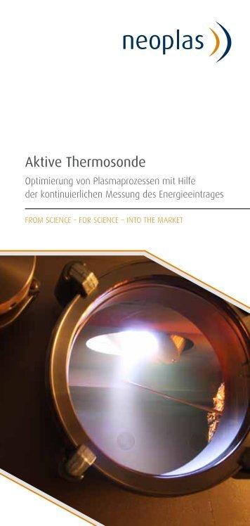 Aktive Thermosonde - neoplas GmbH