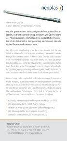 Aktive Thermosonde - neoplas GmbH - Seite 2