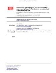 sham-controlled trial gastro-oesophageal reflux disease - Utrecht ...
