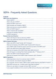 SEPA External FAQs_v1.2 - Business Banking - Bank of Ireland