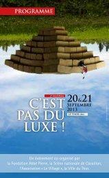 C'EST PAS DU LUXE ! - Théâtre de Cavaillon