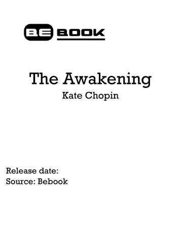 The Awakening Essay Outline Homework Sample  Johndfurlongcom The Awakening Essay Outline Home  Essay Samples  Literature  Kate Chopin   The