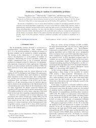 Finite-size scaling in random K-satisfiability problems - KAIST