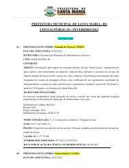 rs contas públicas - fevereiro/2012 - Prefeitura Municipal de Santa ...
