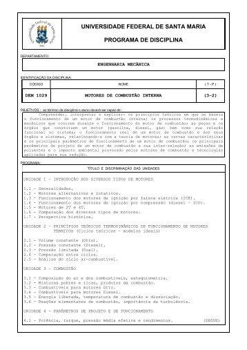 UNIVERSIDADE FEDERAL DE SANTA MARIA PROGRAMA ... - UFSM