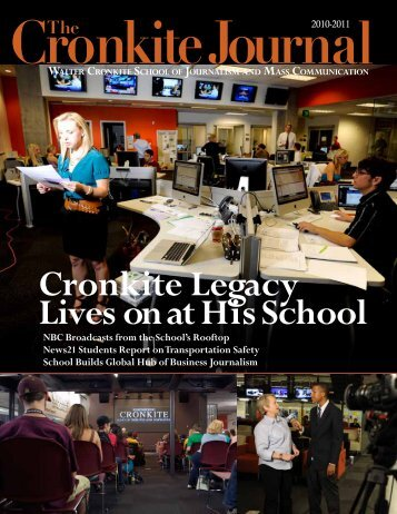 The Walter Cronkite School of Journalism and Mass Communication ...