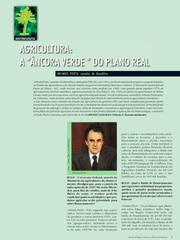 ARLINDO PORTO, senador da República - Biotecnologia