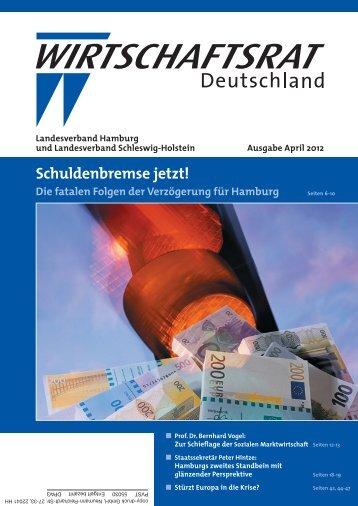 02. April 2012 Ausgabe April 2012 - Wirtschaftsrat der CDU e.V.